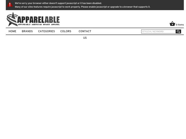 196a2bde9bf Интернет-магазин ApparelAble — фирменная американская  спортивно-повседневная одежда
